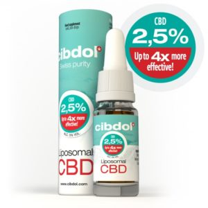 Huile de CBD liposomale 2,5% Cibdol