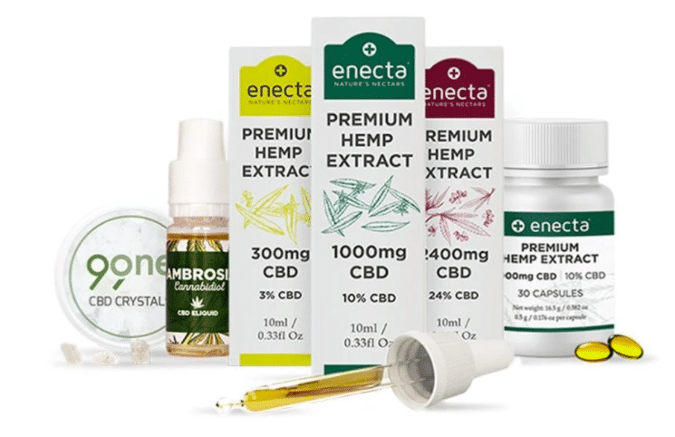 Gamme de produits Enecta