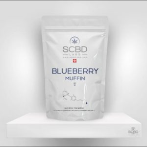 Fleurs de CBD - Blueberry Muffin - SCBD Lab packaging