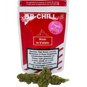 fleurs de CBD Fragola B chill packaging