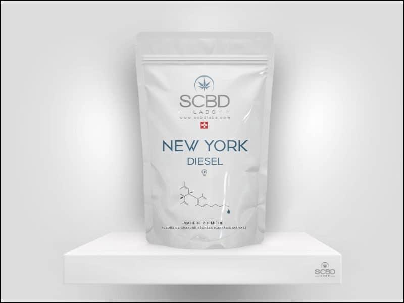Fleurs de CBD - New York Diesel - SCBD Lab