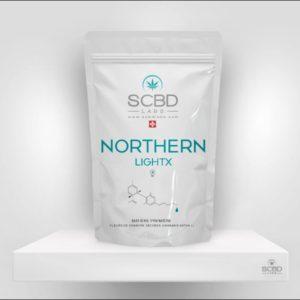 Fleurs de CBD - Northern Light X - SCBD Lab packaging