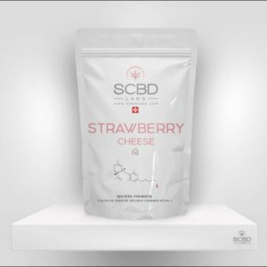 Fleurs de CBD - Strawberry Cheese - SCBD Lab