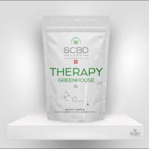 Fleurs de CBD - Therapy Greenhouse - SCBD Lab packaging