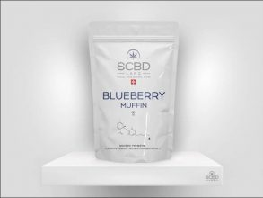 Fleurs de CBD - Blueberry Muffin - SCBD Lab packaging