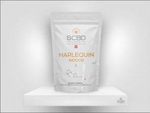 Fleurs de CBD - Harlequin - SCBD Lab packaging
