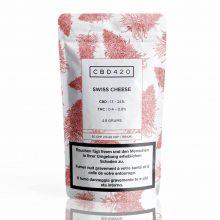 Fleurs de CBD - Swiss Cheese - CBD420 packaging