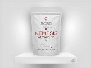Fleurs de CBD - Nemesis - SCBD Lab packaging